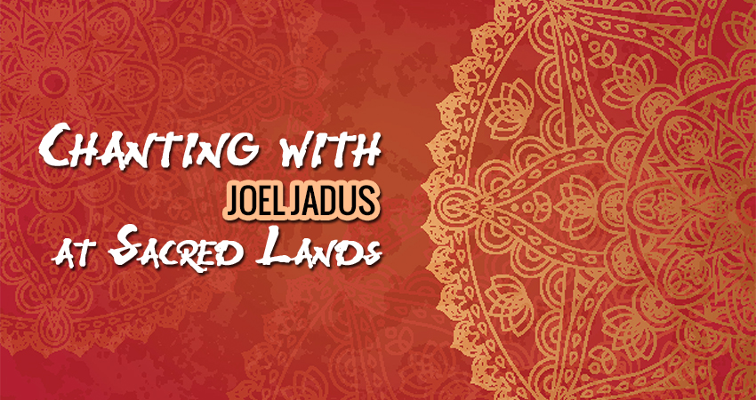 Chanting with Joel Jadus at Sacred Lands