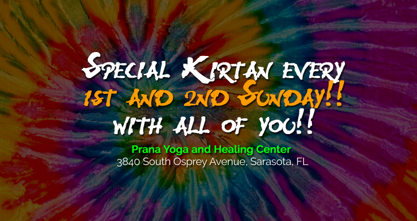 Kirtan every sunday
