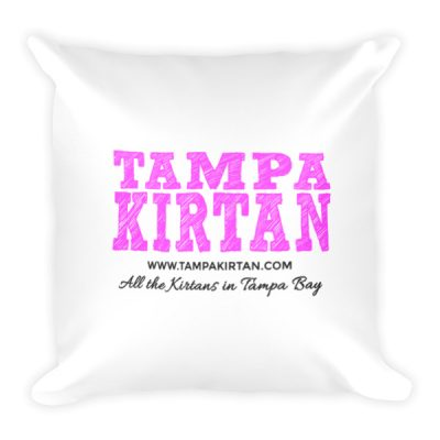 Tampa Kirtan Pillow