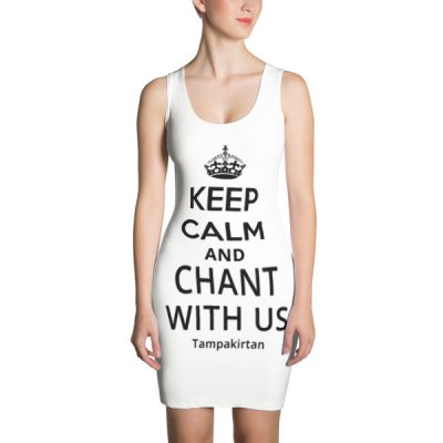 Keep Calm Sublimation Cut & Sew Dress