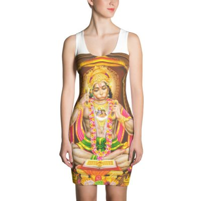 Hanuman Sublimation Cut & Sew Dress