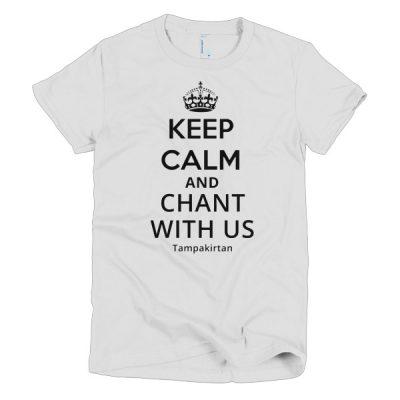 Keep Calm Short sleeve women's t-shirt