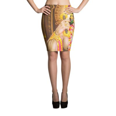 Hanuman Sublimation Cut & Sew Pencil Skirts