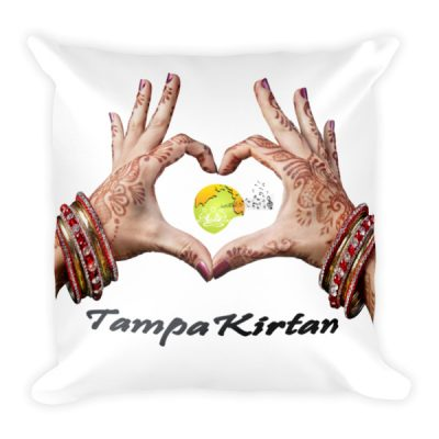 Hand Design Square Pillow