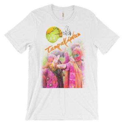 Tampa Kirtan Unisex short sleeve t-shirt