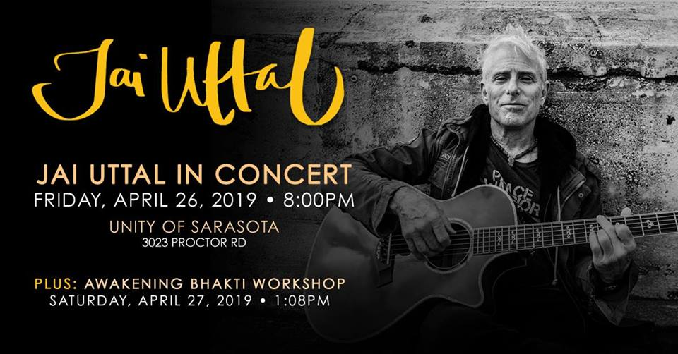 Jai Uttal: An Evening of Ecstatic Chant (Sarasota, FL)