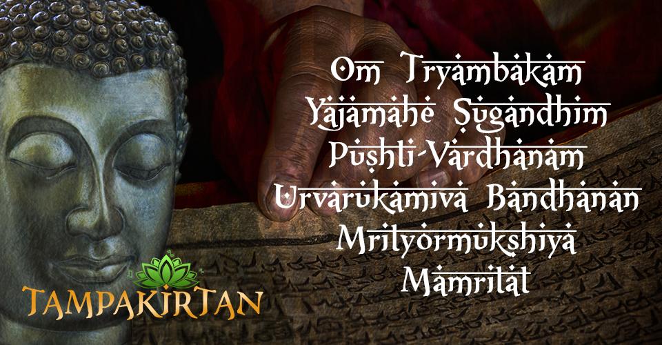 Mantra: Om Tryambakam Yajamahe Sugandhim Pushti-Vardhanam Urvarukamiva Bandhanan Mrityormukshiya Mamritat
